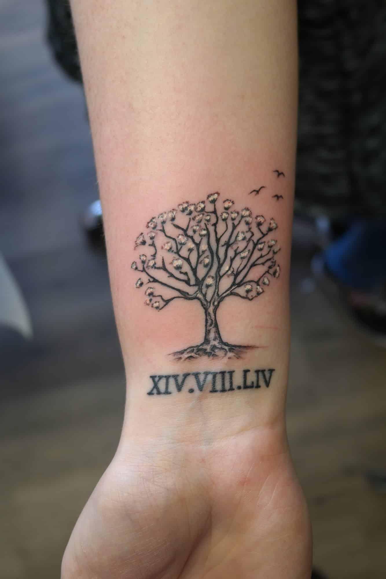 tattoo name datum