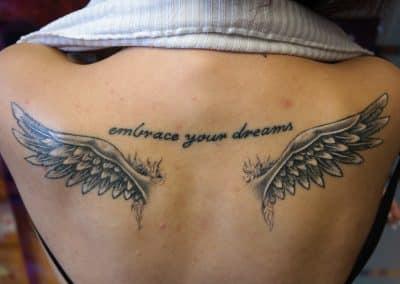 Flügel Spruch