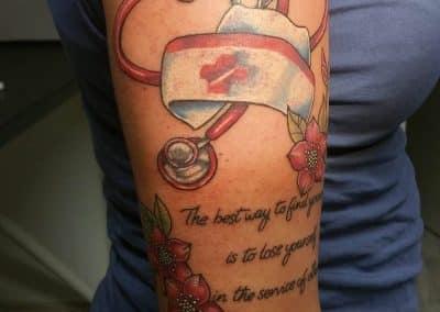 Krankenschwester Tattoo (3)