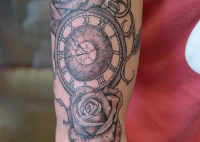 Uhr Rosen