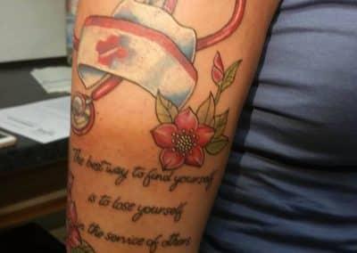 Krankenschwester Tattoo (1)