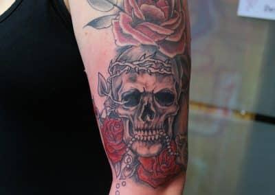 Totenköpfe Rosen 1